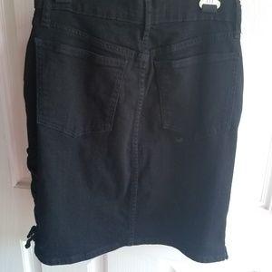 GAP Skirts - Gap Black Denim Stretch Skirt